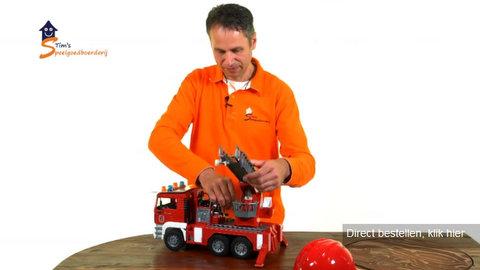 Bruder brandweer vrachtauto