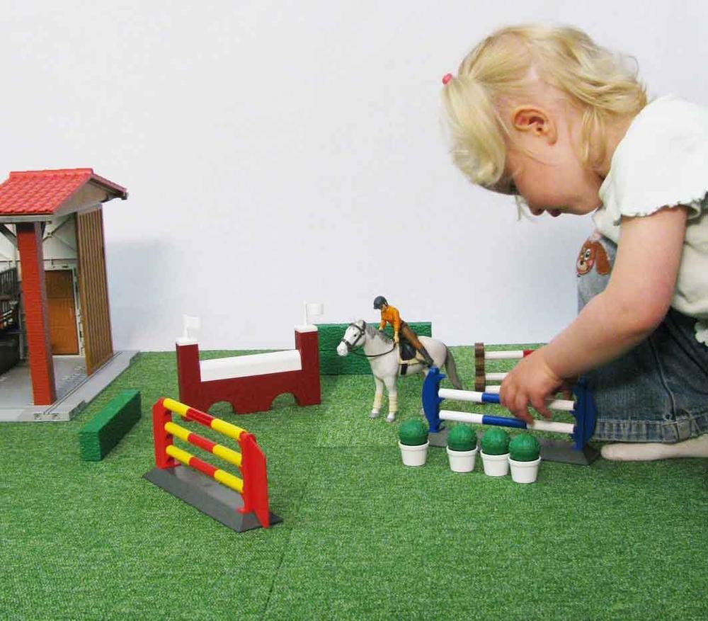 springparcours voor kinderen