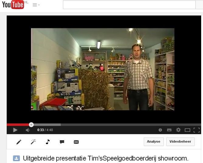 speelgoedwinkel video presentatie